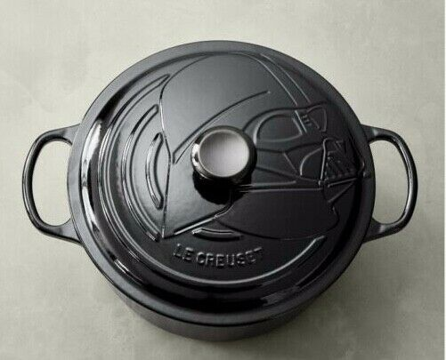 Le Creuset goes to the Dark Side! Darth Vader Dutch Oven - NIB
