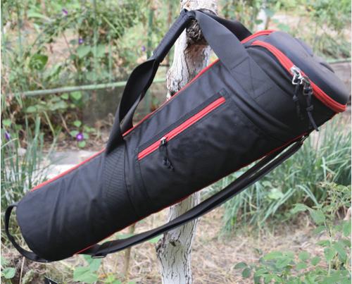 Padded Monopod Tripod Hard Storage Bag Shoulder Strap Handba