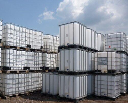 1000 Liter IBC Container Tank Tonne Wassertank Regentonne Gebraucht zur Miete