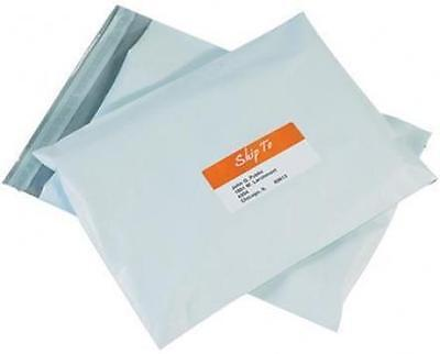 Case Of 1000 1 7.5 X 10.5 White Plastic Poly Mailers Free Shipping