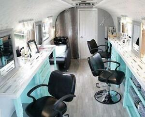 Mobile nail salon/barber shop on wheels! Make $100k profit/Year with your own Salon! Leasing & financing available