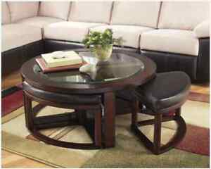 FURNITURE SALE -  ALL ASHLEY COFFEE TABLES ON SALE  HURRY UP !