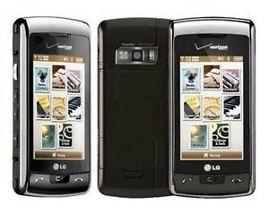 LG EnV Touch VX11000 - Black Silver (Verizon) Cellular Phone