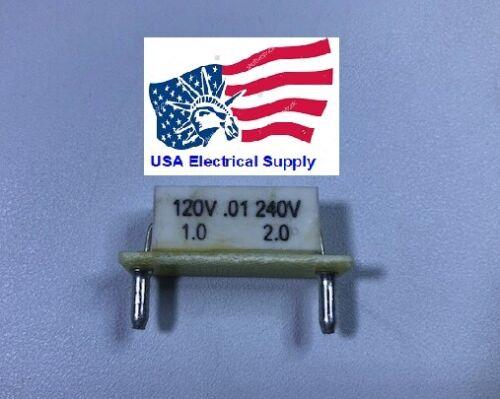 KB/KBIC DC Motor Control Plug-In Horsepower Resistor # 9843 0.01 Ohms.