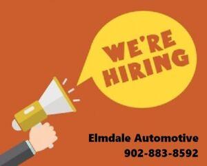 Automotive Apprentice or Licensed Technician Required!