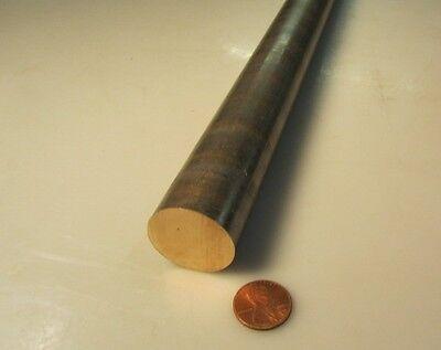 932 Sae 660 Bearing Bronze Rod 1 Dia. X 13 Length 1 Pcs