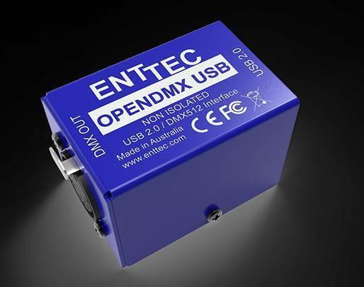 Enttec Open DMX USB To DMX Lighting Interface | DJ Gear