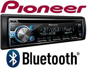 NEW PIONEER BT CD RECEIVER SINGLE CD RECEIVER W/ BLUETOOTH - CAR AUDIO - AUTOMOTIVE - ELECTRONICS 105674456