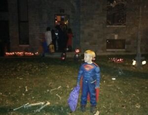 Boys Superman Costume - for ages 5-7