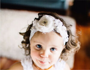 Baby wedding or special occasion headband