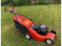 "Husqvana Petrol Lawnmower 20"" good working order, large catcher box £60 BRISTOL"