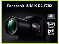 PANASONIC LUMIX 4K DC-FZ82 STUDIO PROFESSIONAL CAMERA