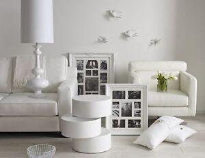 Large white ornate frame