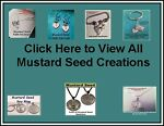 Mustard Seed Necklace and Jewelry