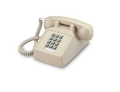 Industrial Desk Phone with Dialpad / Keypad - ASH/IVORY/BEIGE by HQTelecom