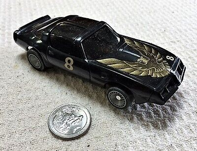 Bachmann SUPERTRAX 1/32 scale SLOT CAR - Black Pontiac Firebird with Chassis