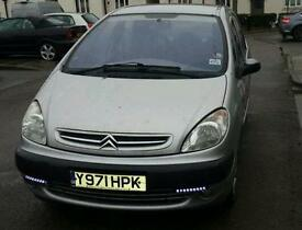 CITROEN XSARA PICASSO 2001, 1.6 PETROL, MANUAL, MOT UNTIL 2018, GOOD CONDITION!