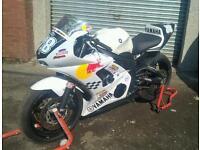 Race track bike Yamaha R6 5SL 2003 fuel Injected