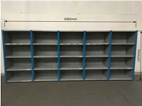Dexion Impex Shelving 5 joined Bays H-1870mm D-600mm L-5000mm £375.00 + vat
