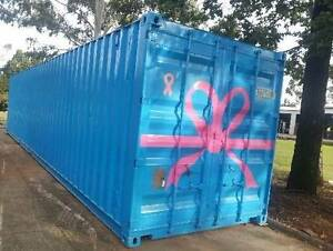 """SHIPPING CONTAINER 40FT HIGH CUBE """"A"""" Grade painted Bundaberg Central Bundaberg City Preview"""