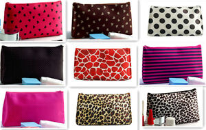 NEW-WOMENS-COSMETIC-COIN-CELLPHONE-MAKEUP-POUCH-BAG-PURSE