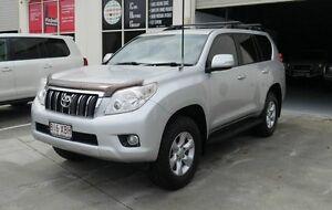 2012 Toyota Landcruiser Prado KDJ150R GXL Silver 5 Speed Sports Automatic Wagon Capalaba West Brisbane South East Preview