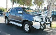 2010 Toyota Hilux KUN26R MY11 Upgrade SR5 (4x4) Grey 4 Speed Automatic Dual Cab Pick-up Klemzig Port Adelaide Area Preview