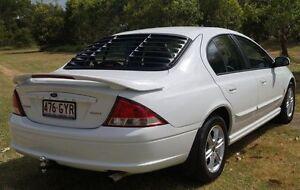 2002 Ford Falcon AU III Forte White 4 Speed Automatic Sedan Bundaberg West Bundaberg City Preview