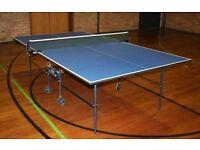 Stiga Basic Roller Indoor Table Tennis Table £120