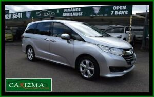 2017 Honda Odyssey RC MY17 VTi Silver Continuous Variable Wagon Seven Hills Blacktown Area Preview