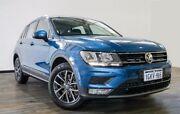 2016 Volkswagen Tiguan 5N MY17 132TSI DSG 4MOTION Comfortline Blue 7 Speed Myaree Melville Area Preview