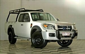 2009 Ford Ranger PK XL White 5 Speed Manual Extracab Burleigh Heads Gold Coast South Preview