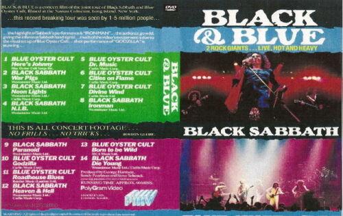black sabbath n blue oyster cult live nassau ny dvd 1981 dio ozzy