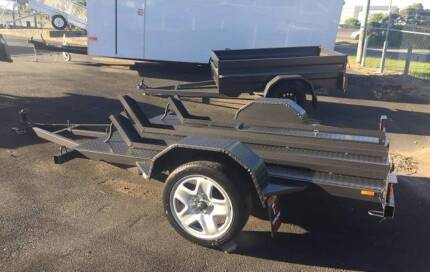 BRAND NEW 8x5 MOTORBIKE TRAILERS - *FINANCE AVAILABLE* Lismore Lismore Area Preview