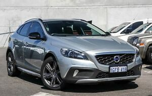 2013 Volvo V40 M Series MY14 Cross Country T5 Adap Geartronic AWD Luxury Silver 6 Speed Osborne Park Stirling Area Preview