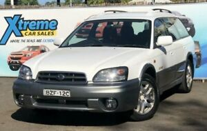 2003 Subaru Outback B3A MY03 White Automatic Wagon Campbelltown Campbelltown Area Preview