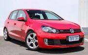 2009 Volkswagen Golf VI MY10 GTI DSG Red 6 Speed Sports Automatic Dual Clutch Hatchback Gosnells Gosnells Area Preview