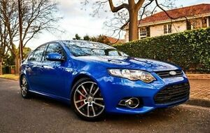 2014 Ford Falcon FG MkII XR6 Turbo Blue 6 Speed Sports Automatic Sedan Medindie Walkerville Area Preview