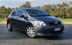 2008 Toyota Corolla ZRE152R Ascent Grey 4 Speed Automatic Hatchback Cannington Canning Area Preview