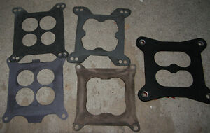 Carbuerator Base Gaskets.