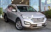2013 Hyundai Santa Fe DM MY13 Elite Silver 6 Speed Sports Automatic Wagon Myaree Melville Area Preview