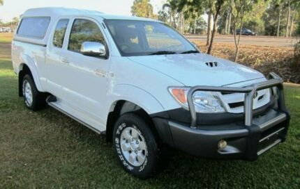 2006 Toyota Hilux KUN26R MY07 SR5 Xtra Cab White 5 Speed Manual Utility Berrimah Darwin City Preview