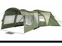 Tent -Outwell Hartford L: 6 man tent with canopy extension