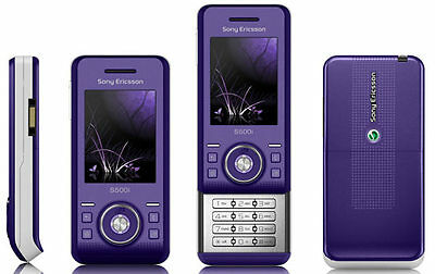 Sony Ericsson S500i Ice purple Unlocked QUANDBAND,2MP CAMERA,BLUETOOTH CELLPHONE, used for sale  Shipping to India