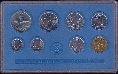 1983 - DDR Kursmünzensatz, stempelglanz