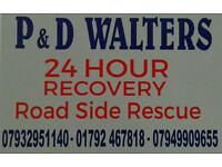 P&D Walters 24hr recovery service
