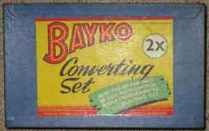 Vintage 1950s BAYKO construction sets in 2 original boxes Katoomba Blue Mountains Preview