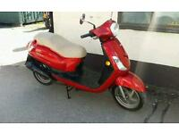 Sym Fiddle 50cc FULL MOT