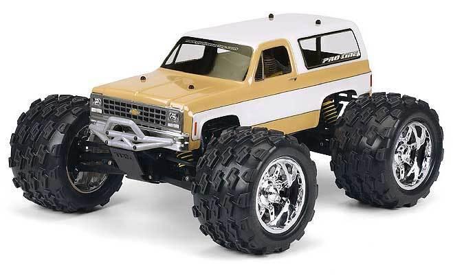 NEW Pro-Line 1980 Chevy Pickup Clear Body E-Maxx//E-Revo//Revo//MGT FREE US SHIP