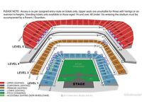 2 Phil Collins tickets reduced price! Aviva Dublin - Excellent seats